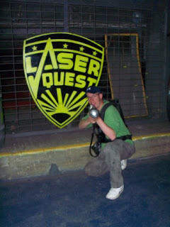Laser Quest on Skegness Pier