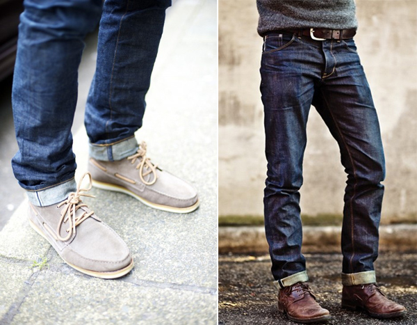 Live Creating Yourself.: Thoughts on Men's Fashion // cuffed jeans