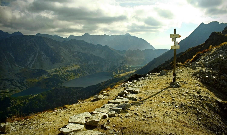 Widok z Krzyżnego