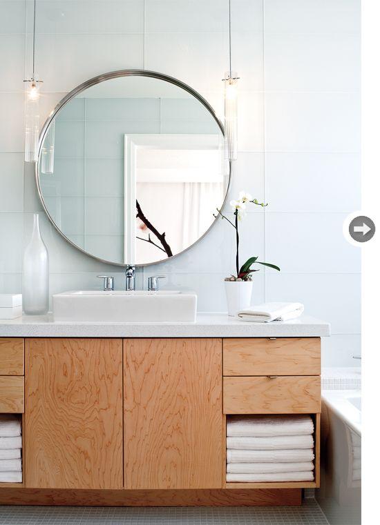 Okrągłe Lustro W łazience Inspiracje I Gdzie Je Kupić Kasia Gal