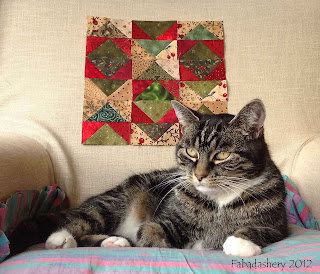 Part 4 - Bonnie Hunter's Easy Street Quilt with Cat