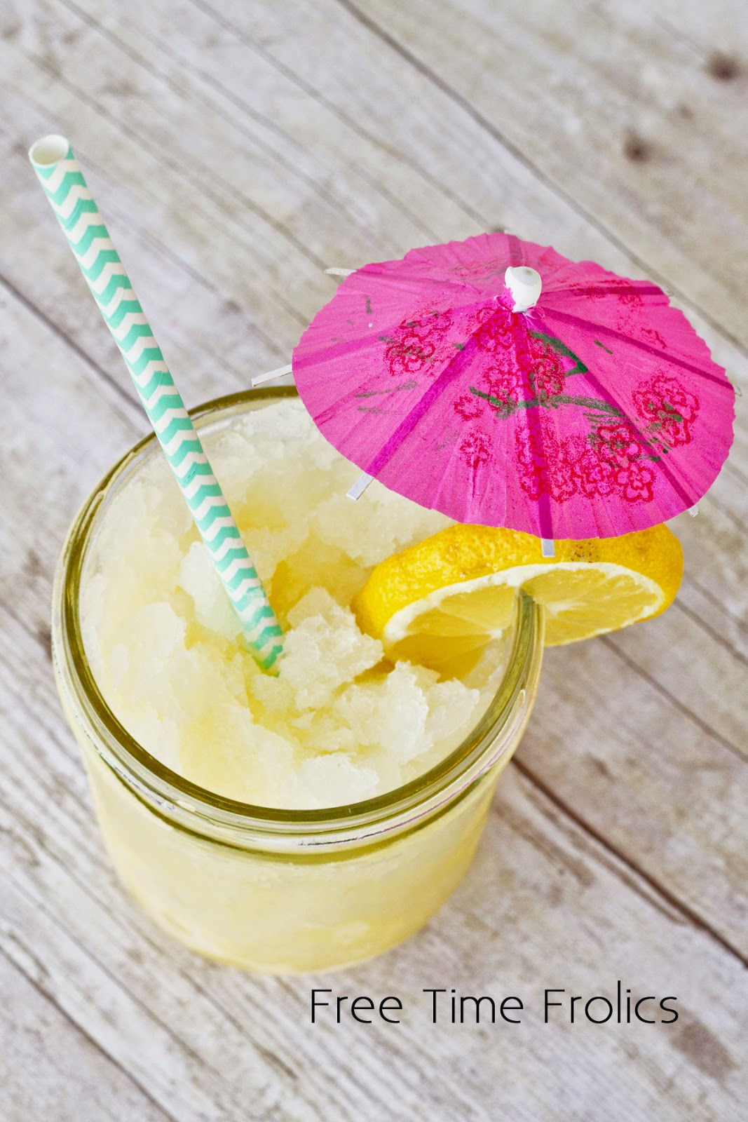 citrus slush recipe for summer parties ww.freetimefrolics.com