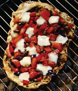 Grilled Pizzetas