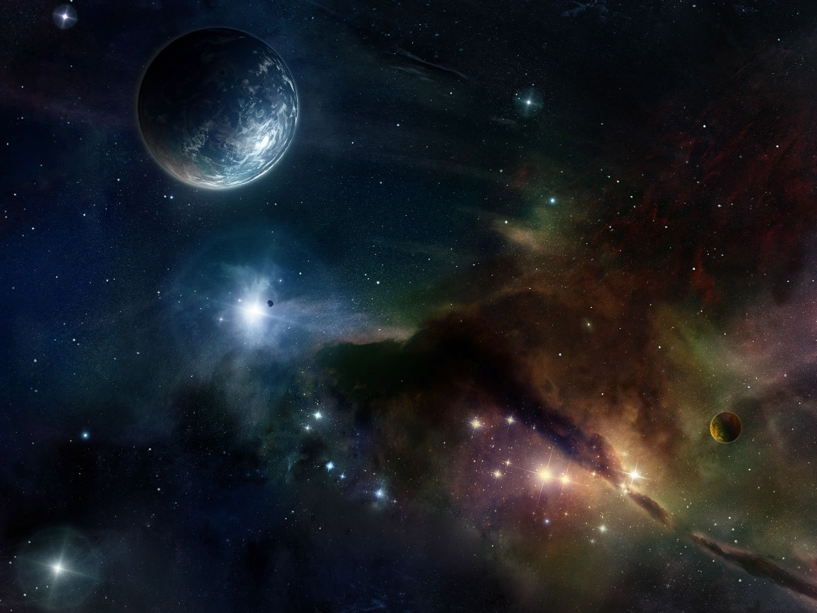 The bing space theme wallpaper for Space space