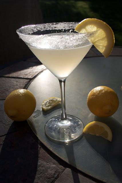 how to make a martini lemon twist