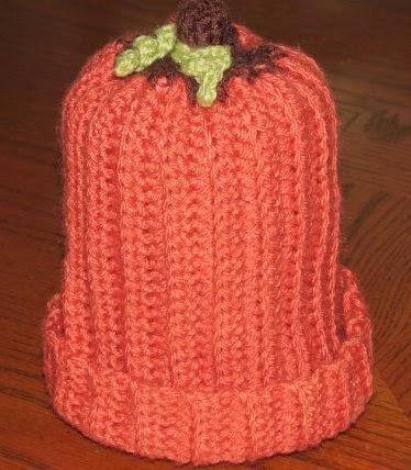 Crochet Little Pumpkin Hat