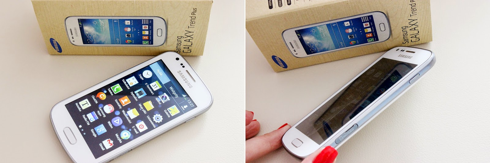 Samsung Trend plus, lista marzeń, telefon Samsung