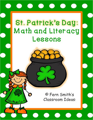 Fern Smith's Classroom Ideas  St. Patrick's Day - Math and Literacy Lessons