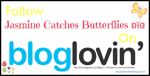 Follow JCB on Bloglovin' http://www.bloglovin.com/blog/5111455/jasmine-catches-butterflies