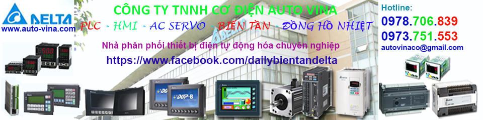 Đại lý bán biến tần Delta,  PLC, màn hình HMI, AC Servo Delta, Mitsubishi, Proface, Weintek, Samkoon