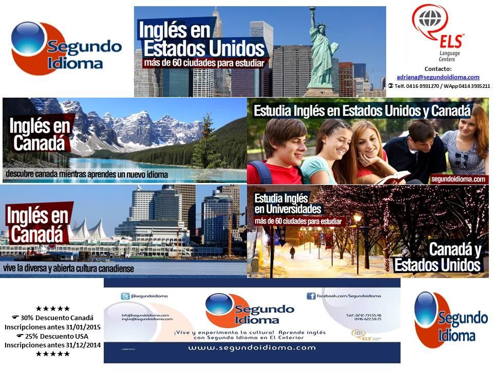 Promoción ELS para Venezuela en USA y Canadá