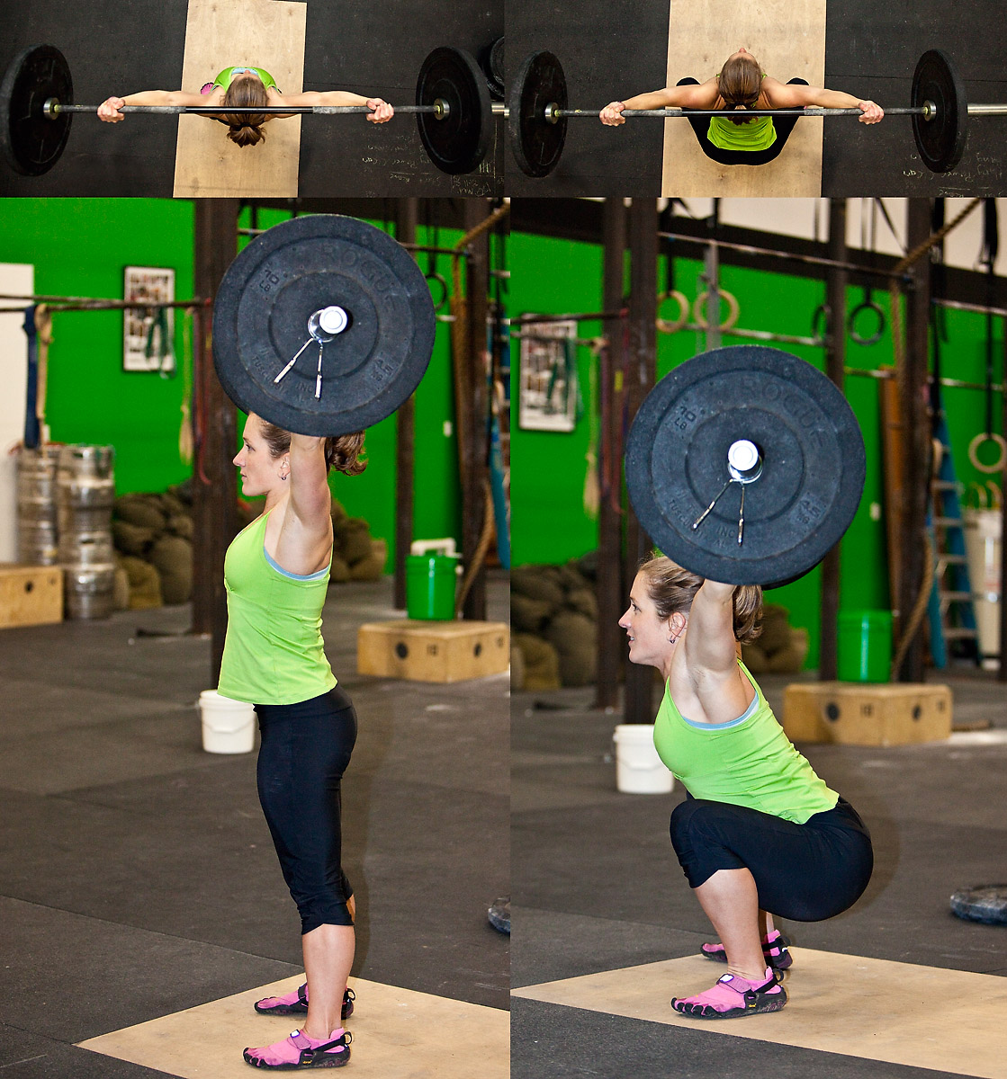 The Rockzone: 11-18-11: Rope Climbs and Overhead Squats