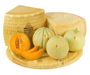 Melone e Grana Padano