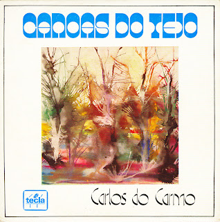 Carlos do Carmo - Canoas do Tejo (EP )1973 Front