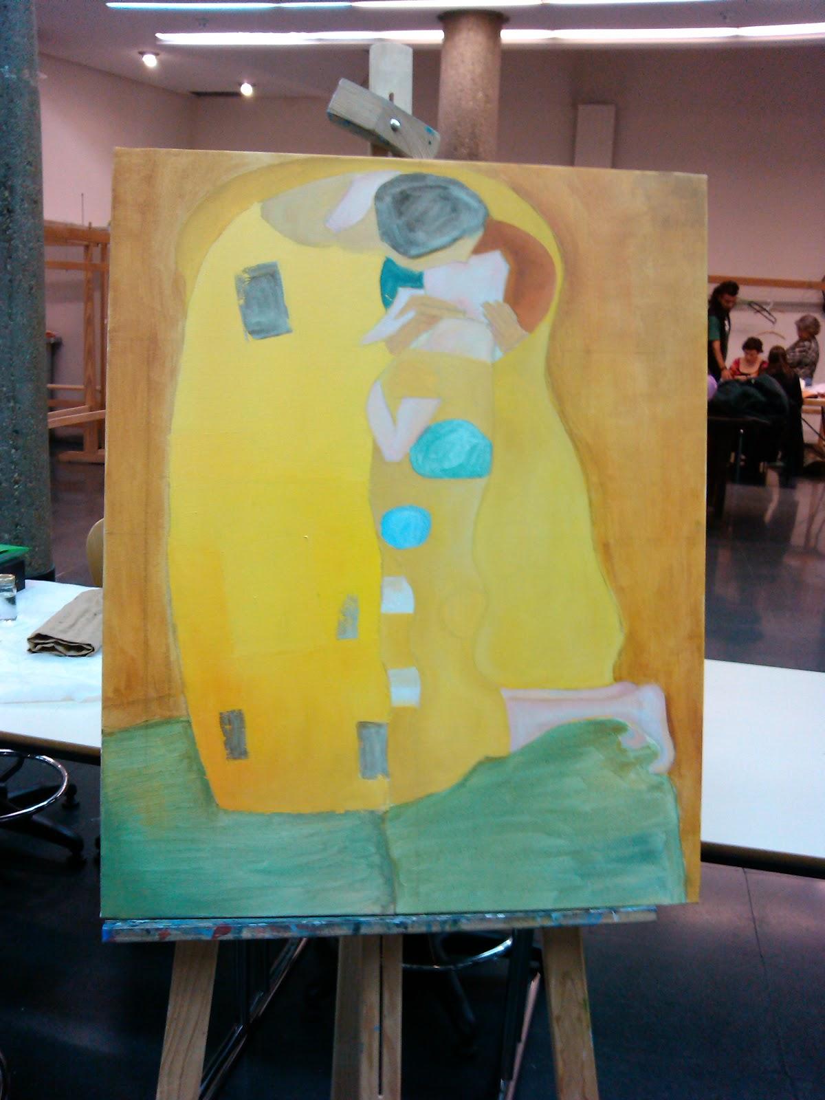 El beso de Klimt | Mi rincón de arte