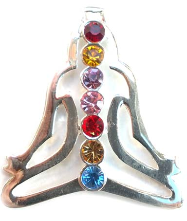 Yogui con Chakras