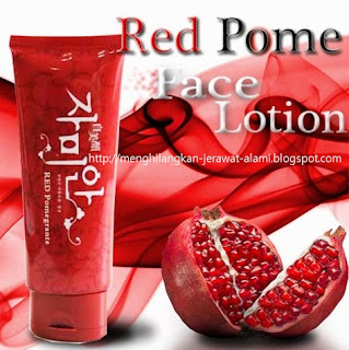 lotion pemutih kulit red pome