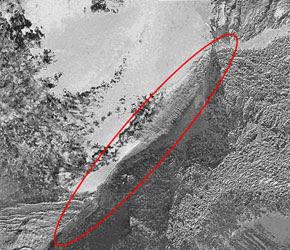 El supuesto Arca de Noé en el monte Ararat