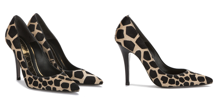 Tendencia estampado animal zapatos