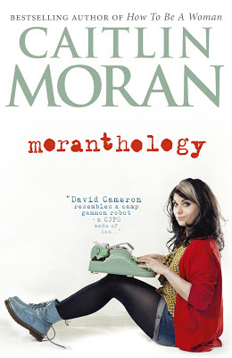 Cover image from Caitlin Moran's Moranthology Book