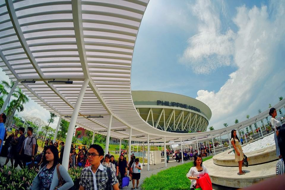 Philippine Arena Inside Basketball Inside The Philippine Arena