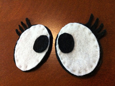 Step by step instructions on how to make your own felt Toodee doll from Yo Gabba Gabba www.thebrighterwriter.blogspot.com
