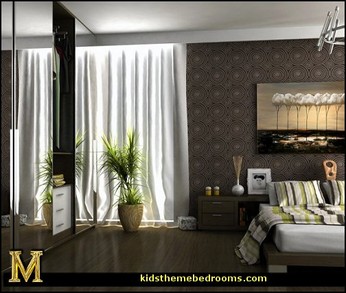 decorating theme bedrooms maries manor contemporary. Black Bedroom Furniture Sets. Home Design Ideas