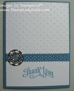 card made with Stampin'UP!'s Builder Brads