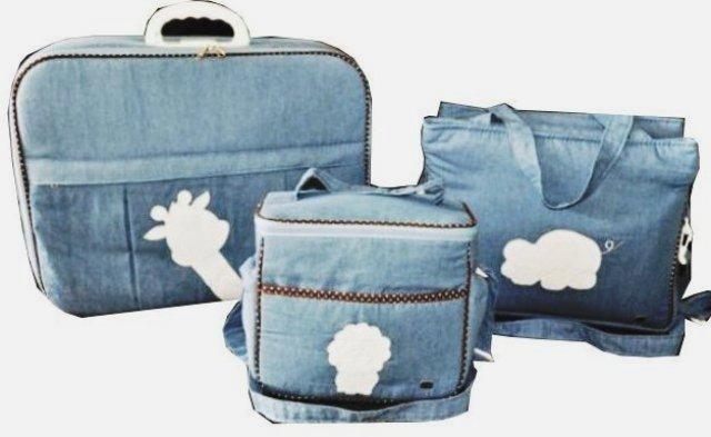 Bolsa De Mao Maura Castro : Kit de bolsas bebe mala maternidade personalizadas ps