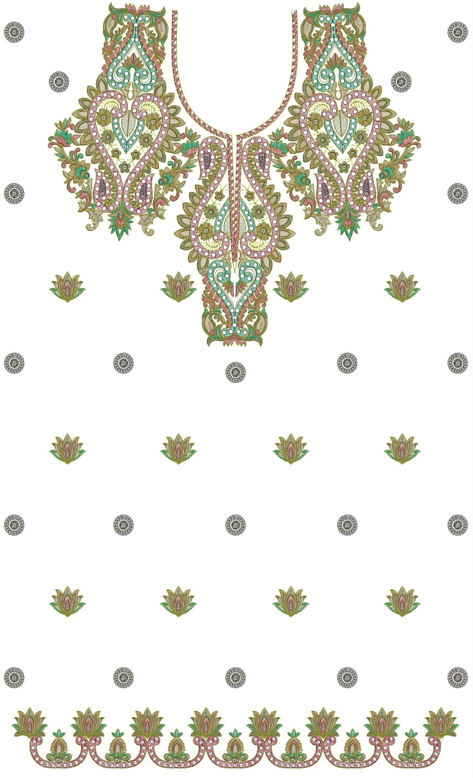 Embdesigntube full top dress embroidery design in emb format