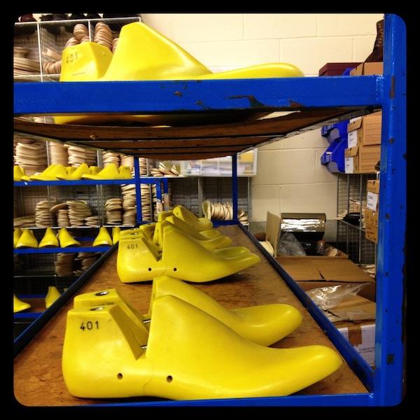 Inside the Dr Martens factory shoe lasts