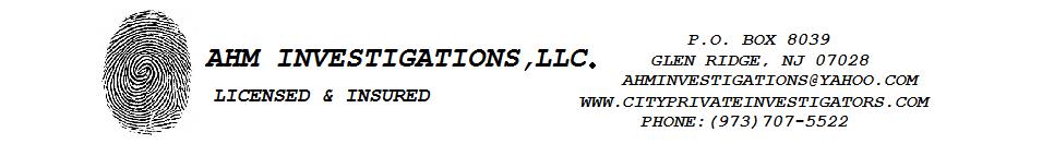 AHM Investigations, LLC.