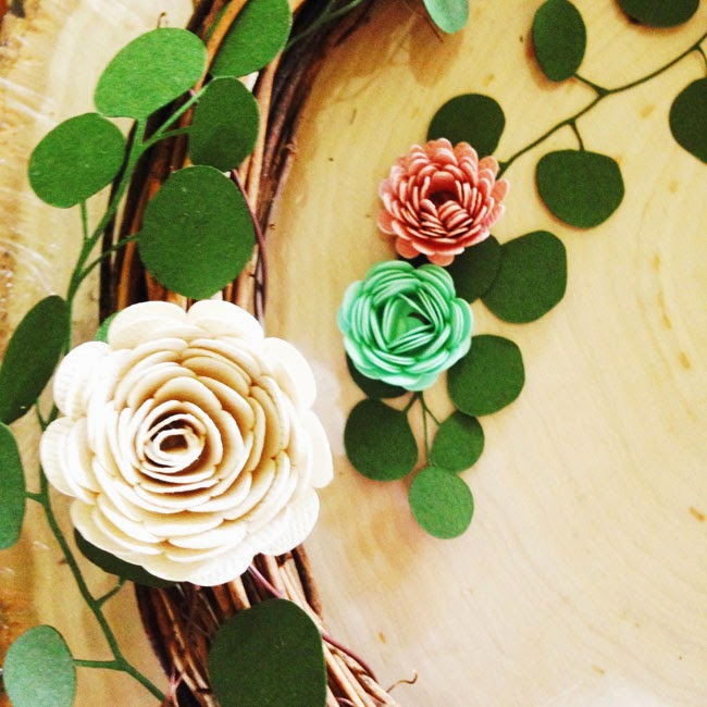 Pen paper flowers craft diy paper floral woodland crown mightylinksfo
