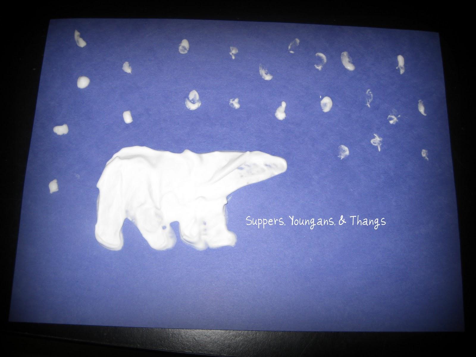 Polar Bear Craft Kindergarten | New Calendar Template Site