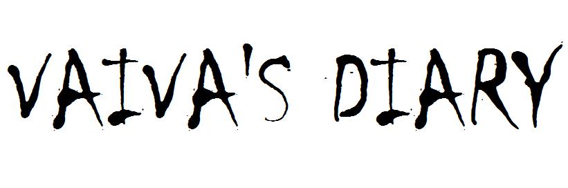 Vaiva's diary