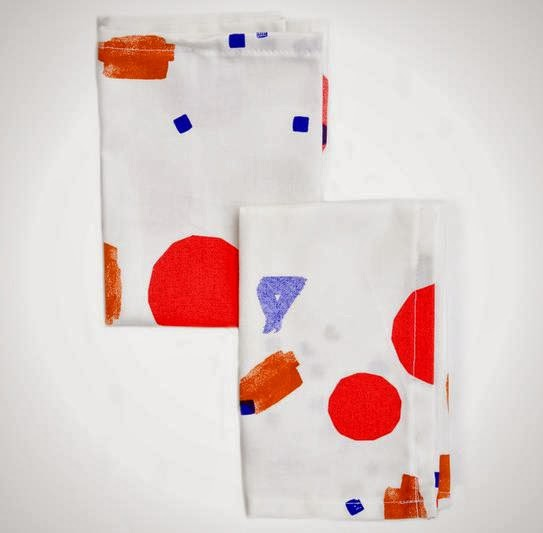 Sketched Shapes Napkin Set