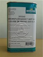 น้ำมันเบรค Dot 5.1 Motorex