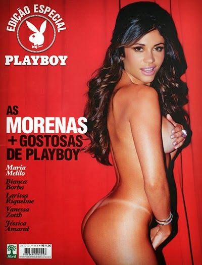 Download - Playboy Especial : As Morenas mais Gostosas de Playboy - Outubro 2013