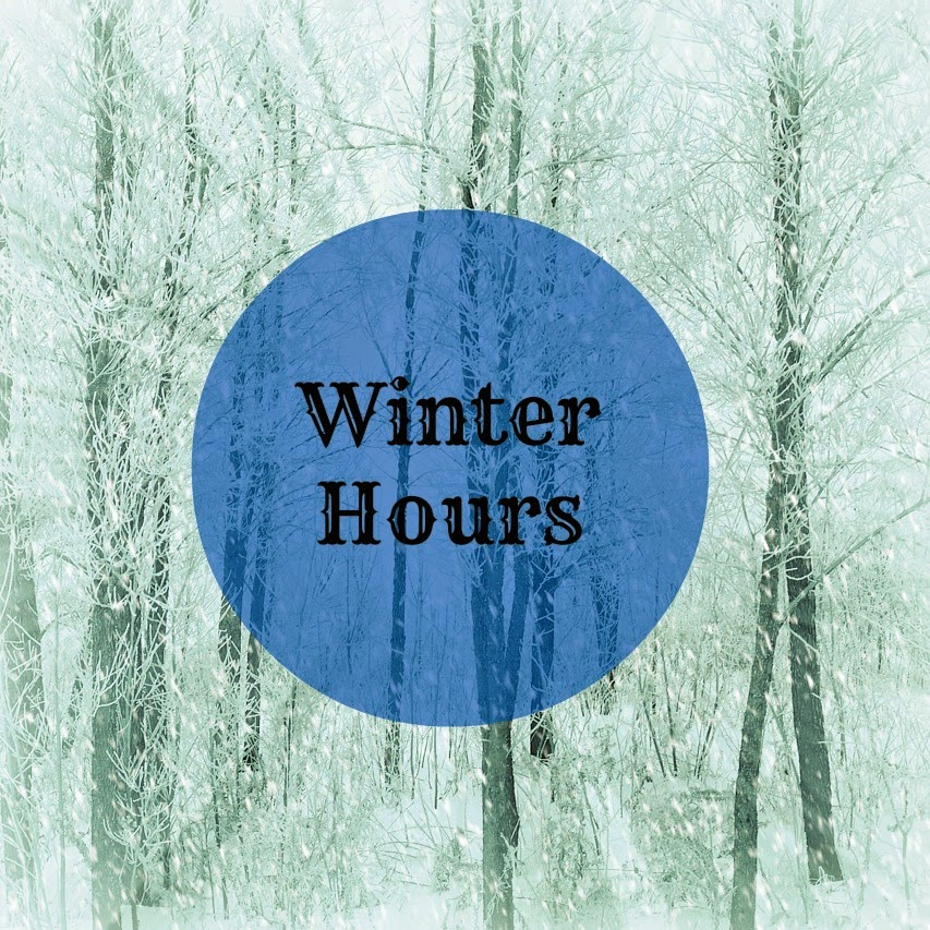 winter hours graphic