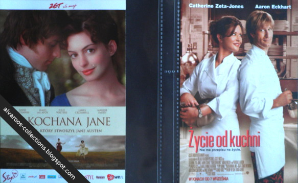 movie flyers - Becoming Jane, No reservations