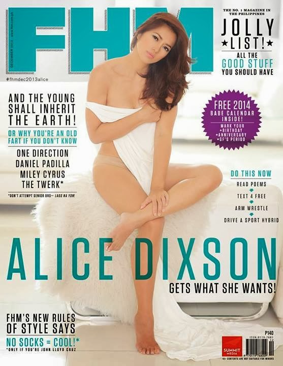 Alice Dixson Hot Topless FHM Photoshoot