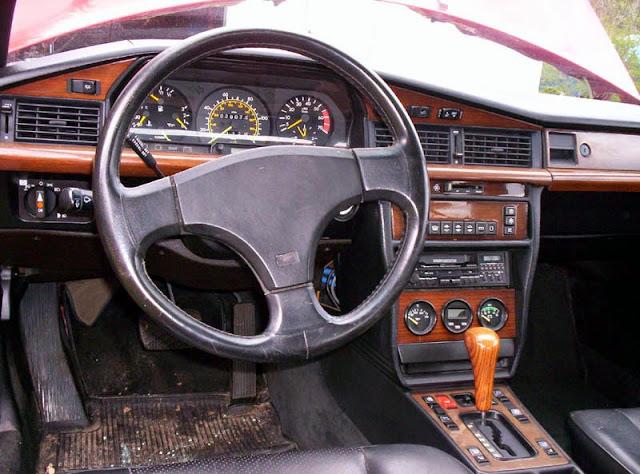 mercedes w201 190e amg interior