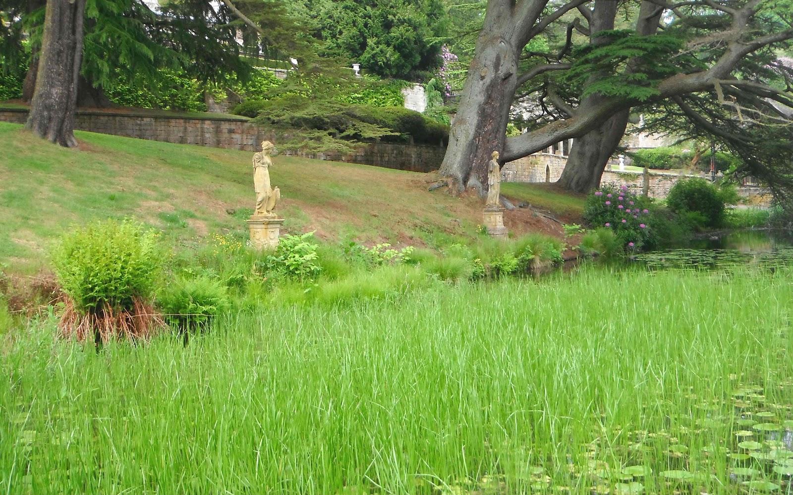 The gardens of Alton Towers