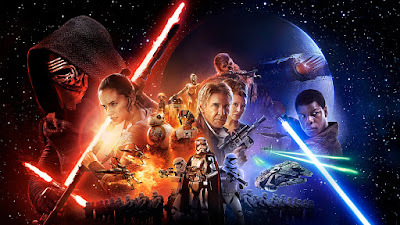 Star Wars: The Force Awakens Final Theatrical One Sheet Movie Poster