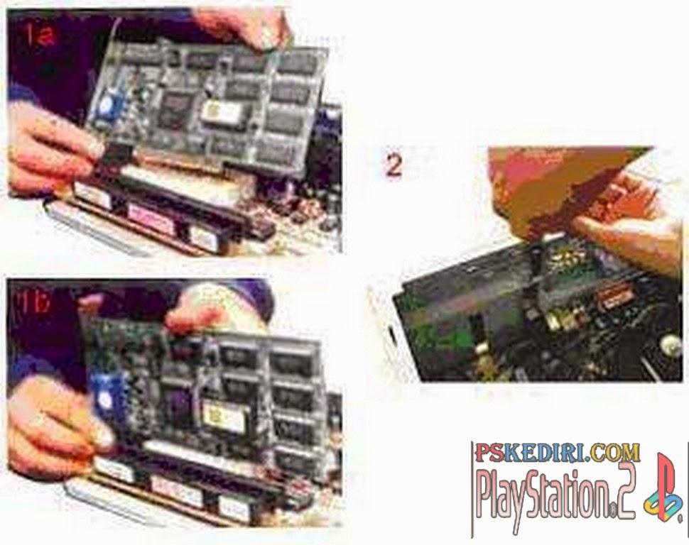 Memasang Card Adapter