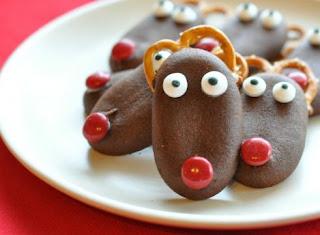 Navidad, Galletas Renos