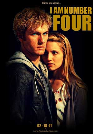 Hindi Movies: I Am Number Four Movie Review I Am Number Four Movie Six