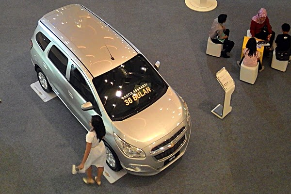 Chevrolet Exhibition 2015 Lokasi Gandaria City Tanggal 21 - 24 Mei