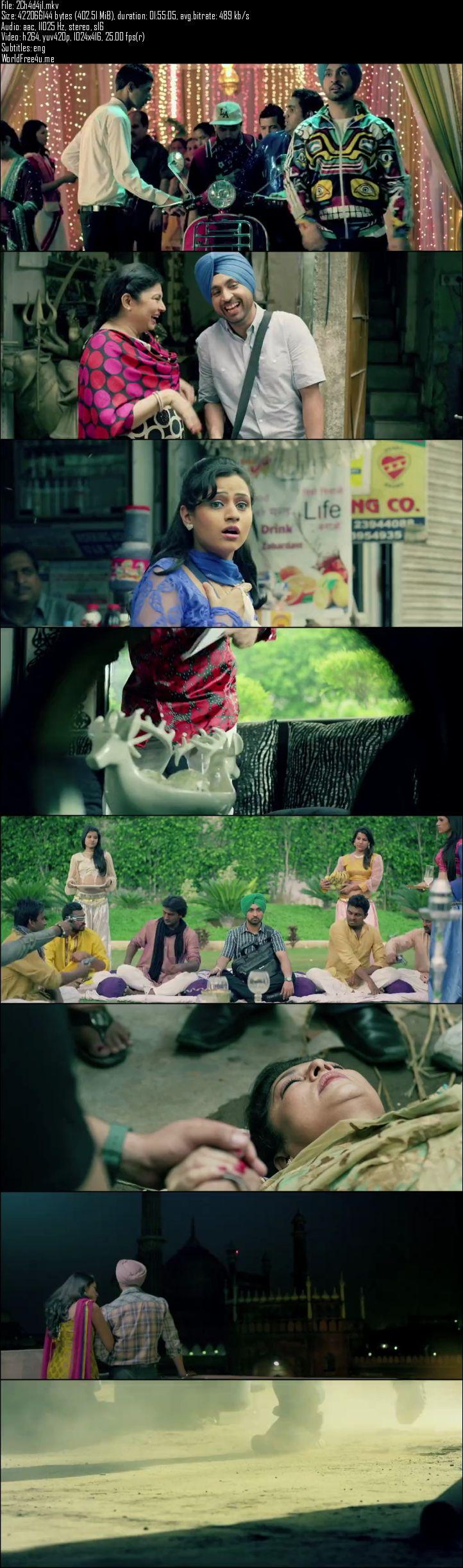 Screen Shot Of Mukhtiar Chadha 2015 Full Movie Free Download 300MB HDRip 576P ESubs Watch Online