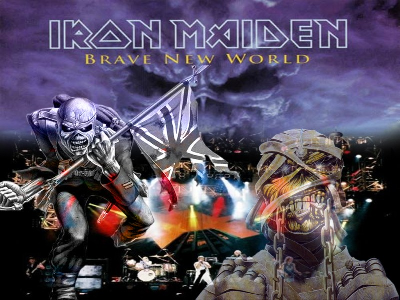 Iron Maiden brave new world album